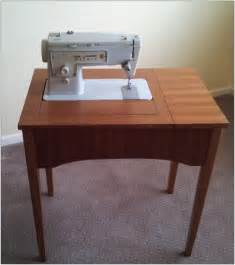 singer sewing machine with cabinet vintage singer sewing