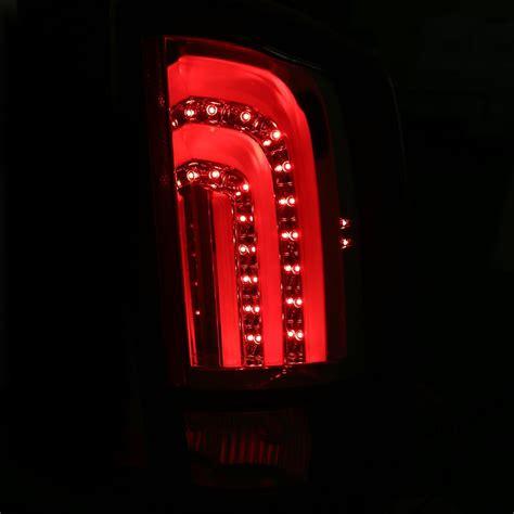 ram led tail lights cg 07 08 dodge ram 1500 07 09 2500 3500 fiber optic led