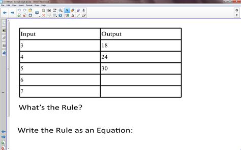 pattern rule for input hunter s tales from teaching what s my rule