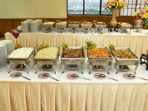 How To Decorate Buffet Table An Impression Way To Apply The Buffet Decorating Ideas