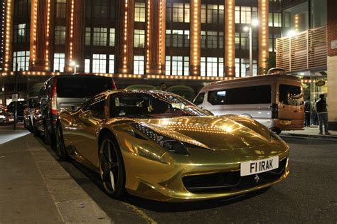 Gold Plated Cars For Sale by Cars In Mirror