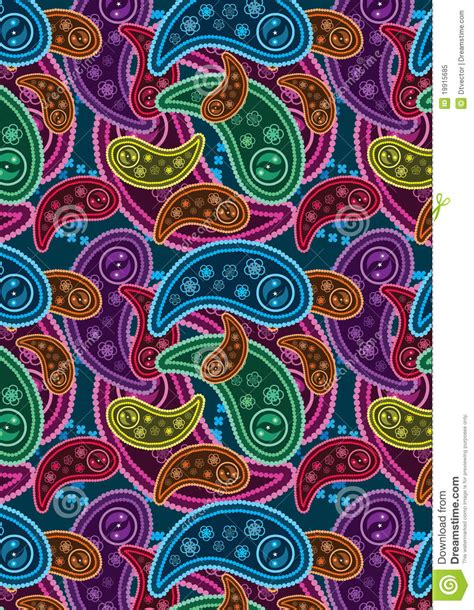 colorful paisley wallpaper colorful paisley background eps royalty free stock photo