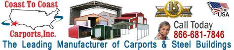 Coast To Coast Carports Inc banner2 0