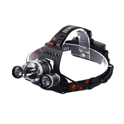 Stok Terbatas Senter Kepala Xm L T6 5000 Lumens jual boruit cree xm l t6 5000 lumens headl jk0009 peralatan hiking dan cing harga