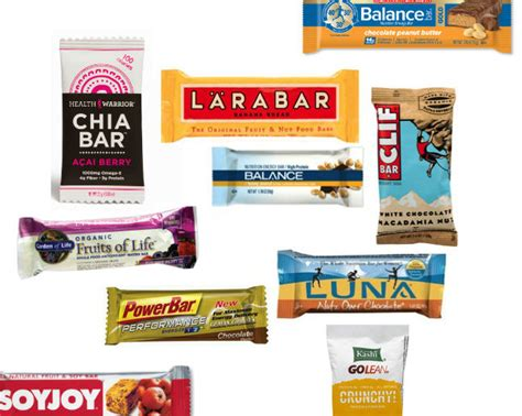 top 10 granola bars the 10 best energy bars for athletes and everybody else