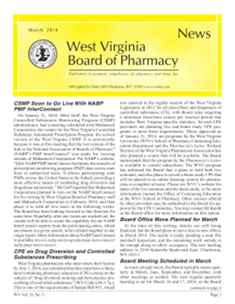 Response Letter To Board Of Pharmacy From The Associate Editor S Desk
