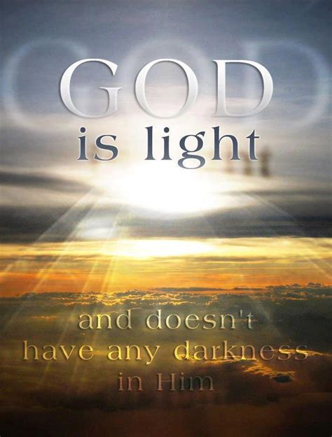 god from god light from light bryant s berean darkness cannot exist with light
