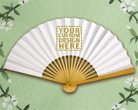 custom printed fans for weddings personalized paper fans bing images