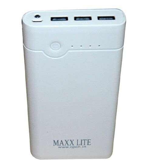 Powerbank Hippo 24000 maxxlite 24000 mah power bank with 3 usb port torch with