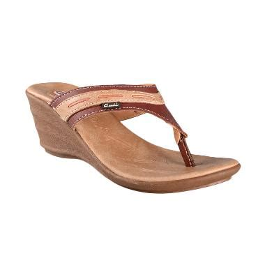 Sandal Sepatu Wanita Murah Fergie Platform Sandal Brown 001 jual sandal wanita branded harga murah blibli