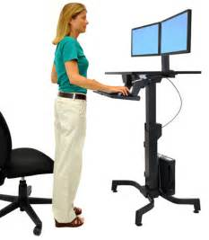 Sit To Stand Desk Reviews by Height Adjustable Sit Stand Desks Reviews