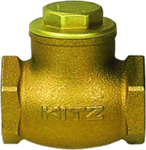 kitz swing check valve swing check bronze kitazawa check valves brass
