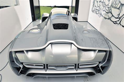 audi 3d printed car divergent microfactories blade supercar exhibits 3d