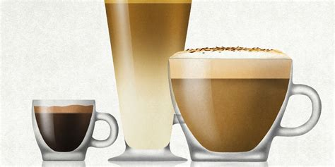 coffee cups types 38 types of coffee drinks explained