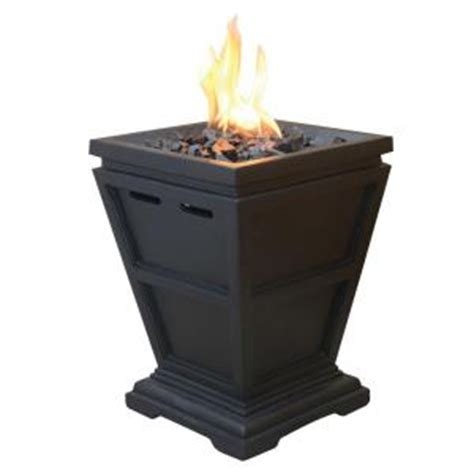 uniflame tabletop 10 5 in x 10 5 in propane gas pit