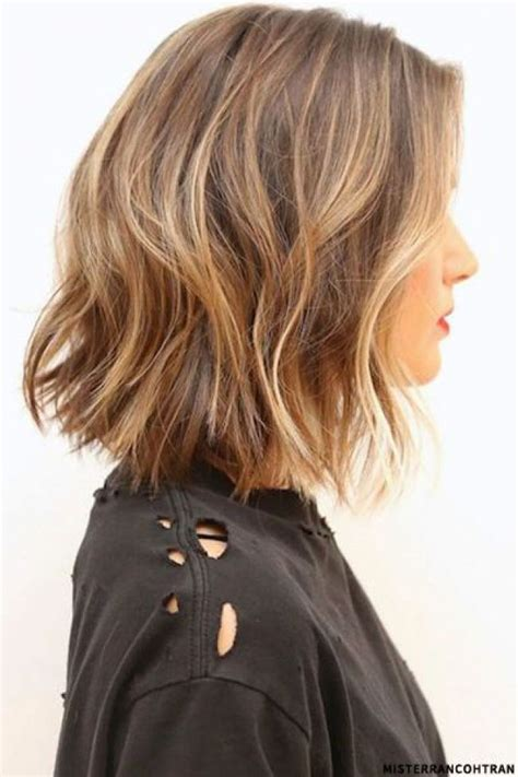 image result for blunt bangs and balayage coiffure coiffures m 232 ches et beaut 233 id 233 e tendance coupe coiffure femme 2017 2018 balayages m 232 ches et ombre hair sur cheveux mi
