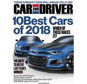 Car And Driver USA  January 2018 Free PDF Magazine Download