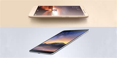 Tablet Xiaomi Redmi xiaomi debuts all metal redmi note 3 phone mi pad 2 tablet