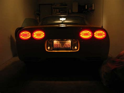 c5 corvette 1997 2004 led tail lights corvette mods