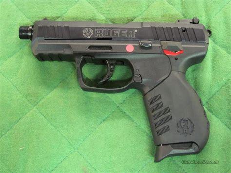 barrel 22 pistol ruger sr 22 pistol 22 lr w threaded barrel