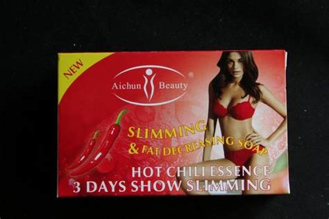 Aichun Easy Slimming Soap 3 Days Show Slimming Sale weight management slimming aichun chilli slimming decreasing soap was sold