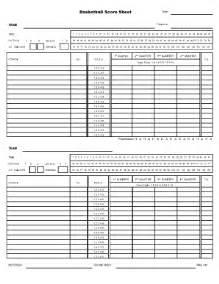 basketball sheet fill online printable fillable blank