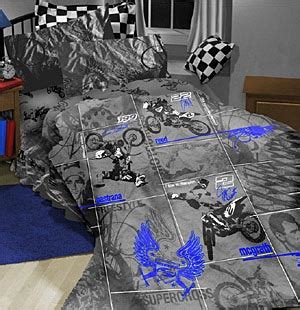 dirt bike bed set dirtbike comforter