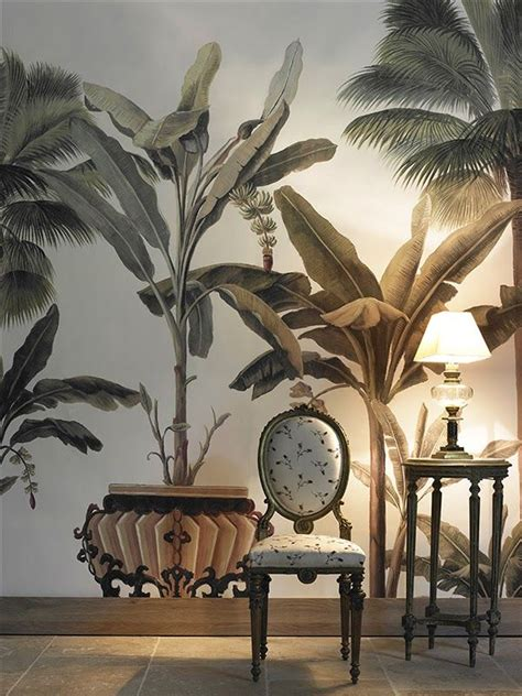 French Wall Murals palm tree mural wallpaper mural design ideas