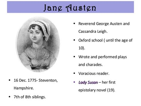 biography jane austen ppt jane austen biography style novels