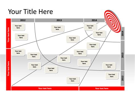 powerpoint slide transformation map diagram 1 target