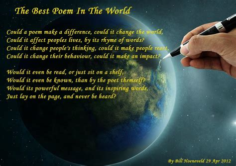 best poems in the best poem in the world all types of poetry