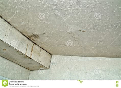 leaking ceiling stock images royalty free images ceiling damage from rain water leak stock image image