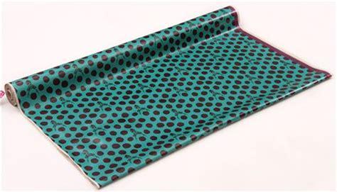 Canvas Laminating Polka Sedang teal echino samber canvas laminate fabric stag with polka dots from japan laminates fabric