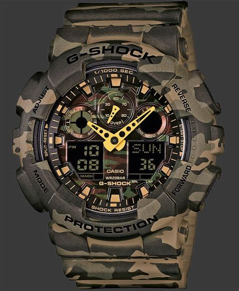 Casio G Shock Ga 100 Army best 25 casio ideas on casio g