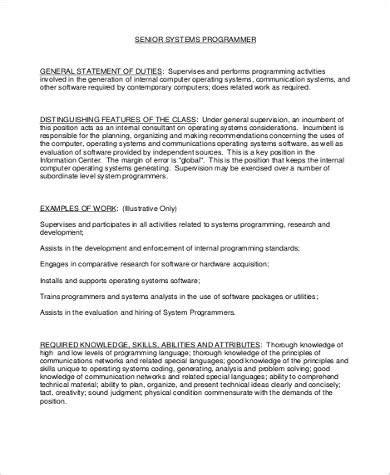 system programmer description 8 system programmer description sles sle