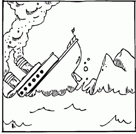 titanic underwater coloring pages titanic coloring page coloring home