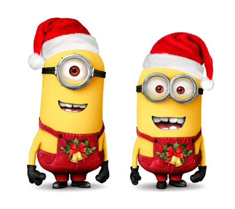 Images Of Christmas Minions   minion christmas clipart