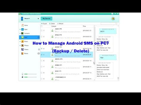 how to copy text on android how to transfer sms from android to pc backup sms delete text messages on computer