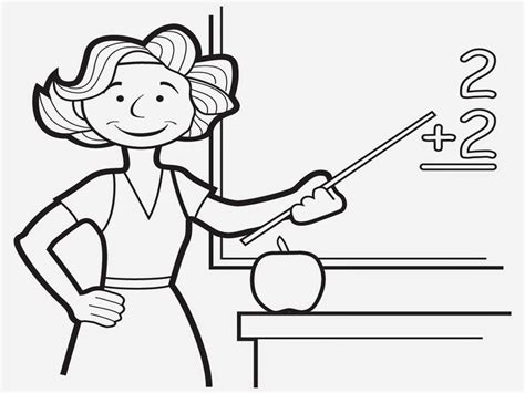 printable coloring pages for your teacher teacher coloring pages realistic coloring pages