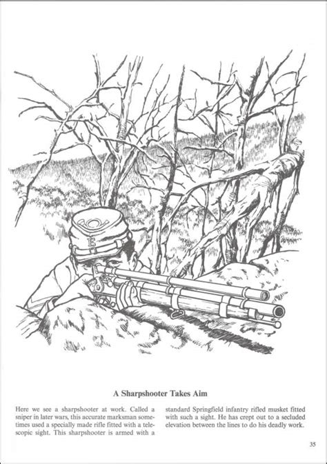 free coloring pages of civil war