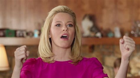 us bank commercial actress ad of the day elizabeth banks gets comically obsessed