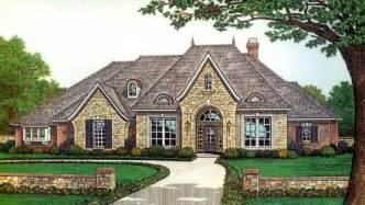 French Country Style House Plans by French Country Style House Plans 2927 Square Foot Home