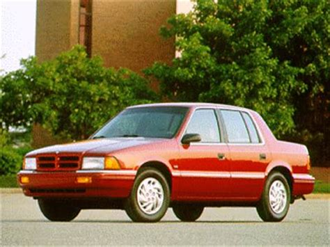 kelley blue book classic cars 1995 plymouth acclaim navigation system dodge spirit pricing ratings reviews kelley blue book