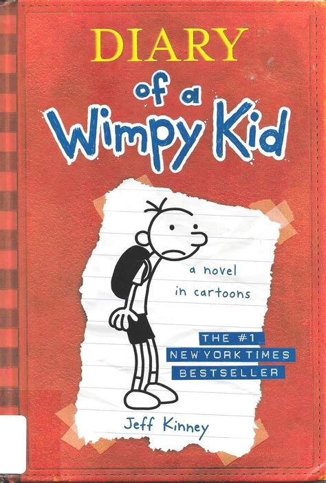 the diary of a diary of a wimpy kid book cover template 52477 notefolio