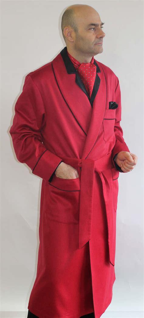 vestaglia da uomo vestaglia classica da uomo in 100 rosso vivo