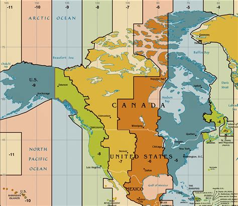 usa time zones maps time zone map of the united states nations project