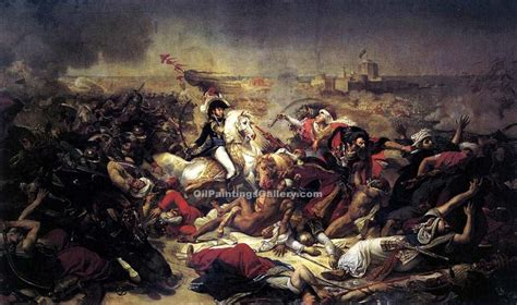 siege napoleon the battle of abukir by antoine jean gros painting id cl