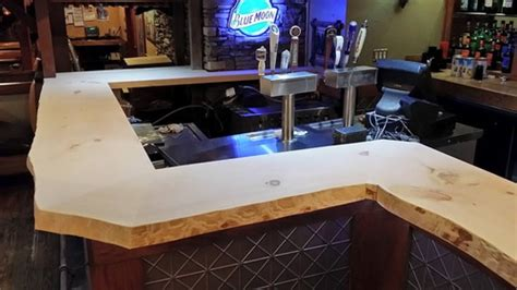 live edge pine bar top woodworking talk woodworkers forum