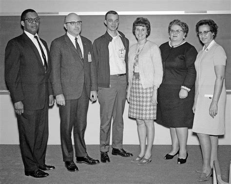 katherine johnson space center katherine johnson with nasa langley colleagues 1970 nasa