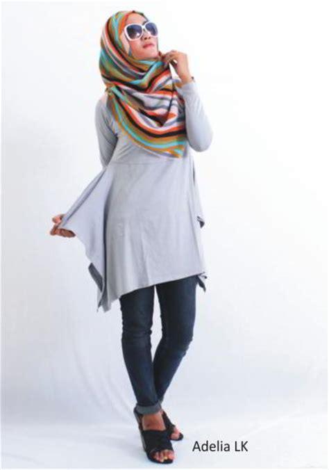 Model Baju Muslim Gamis Terbaru Dan Modern Lk Pikura Kemeja model baju atasan muslim terbaru 2015 rp 50rb model baju